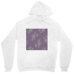 Purple Floral Unisex Hoodie | Artistshot