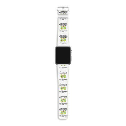 Couples Who Isolate Together Stay Together Happy Anniversary 2020 Apple Watch Band Designed By Hoainv