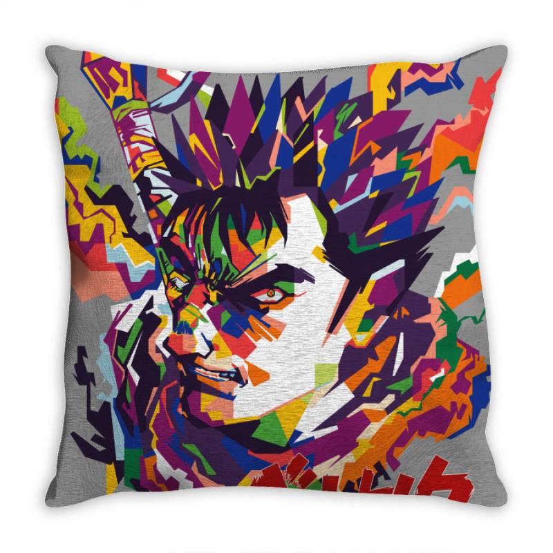 Guts Throw Pillow   Artistshot
