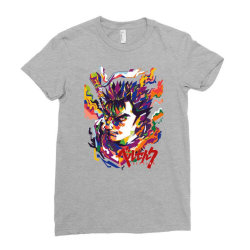 Guts Ladies Fitted T-Shirt | Artistshot