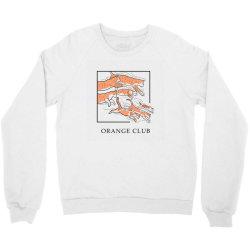Orange Club Crewneck Sweatshirt | Artistshot