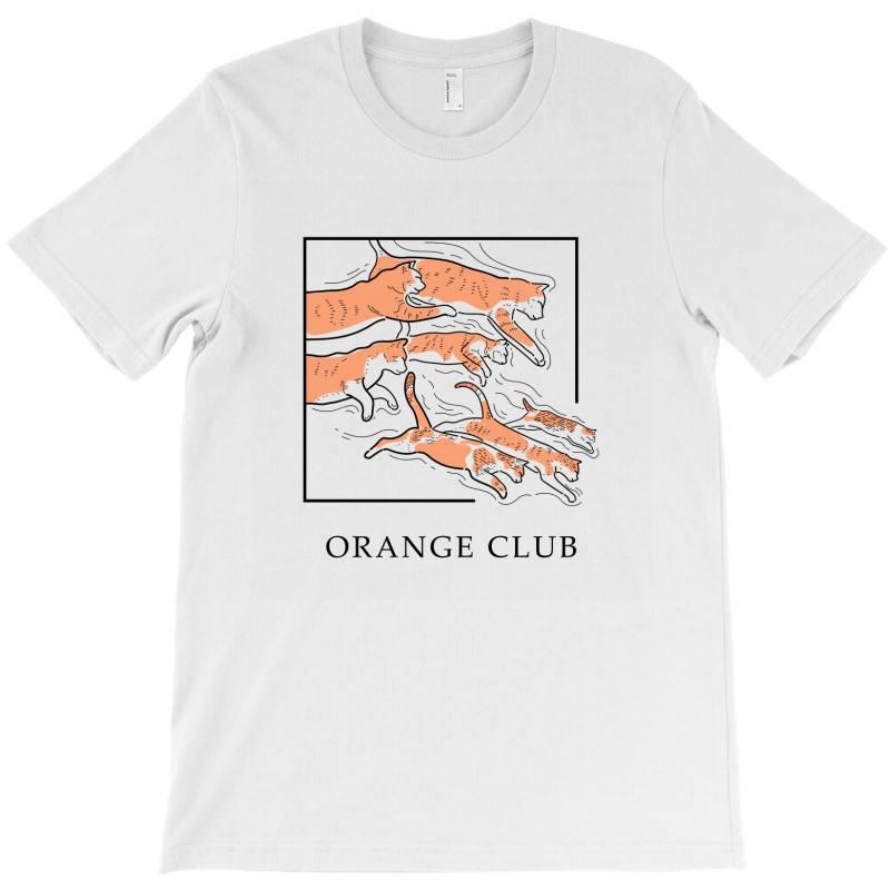 Orange Club T-shirt | Artistshot
