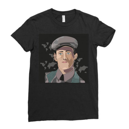 Army Man Ladies Fitted T-shirt Designed By Su_rreal