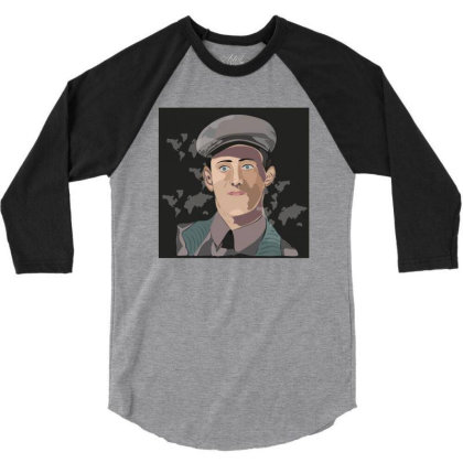 Army Man 3/4 Sleeve Shirt Designed By Su_rreal