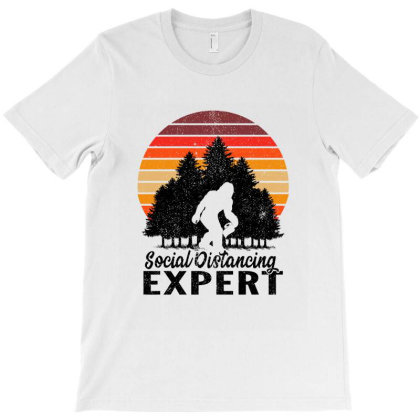 Social Distancing Expert T-shirt Designed By Tiococacola
