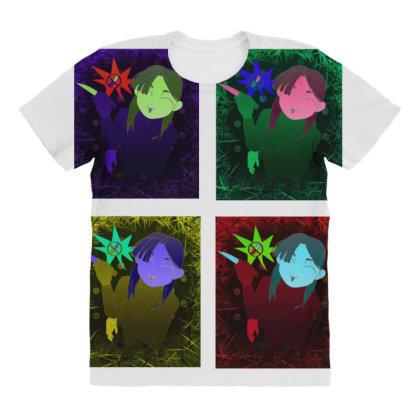 Ip Character All Over Women's T-shirt Designed By Deletethisacccouunntttt