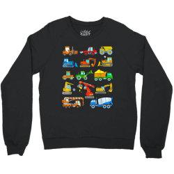 construction excavator shirt for boys girls men and women Crewneck Sweatshirt | Artistshot