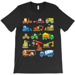 construction excavator shirt for boys girls men and women T-Shirt | Artistshot