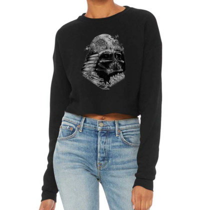 Star Wars Darth Vader Build The Empire Graphic Cropped Sweater Designed By Conco335@gmail.com