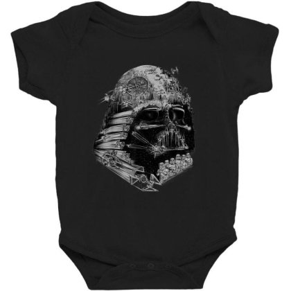 Star Wars Darth Vader Build The Empire Graphic Baby Bodysuit Designed By Conco335@gmail.com