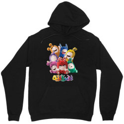 oddbods all 7 characters in cute funny poses Unisex Hoodie | Artistshot