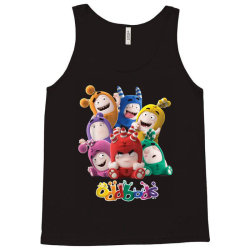 oddbods all 7 characters in cute funny poses Tank Top | Artistshot