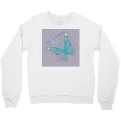 Blue butterfly Crewneck Sweatshirt   Artistshot