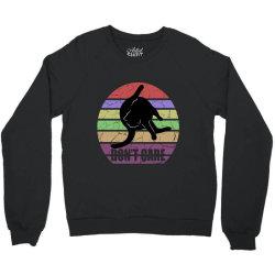 don't care Crewneck Sweatshirt | Artistshot