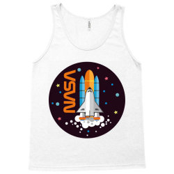USA Space Agency Vintage Colors V03 Tank Top | Artistshot