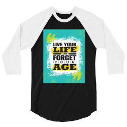 Lifequotes 3/4 Sleeve Shirt   Artistshot