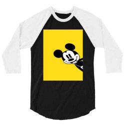 Micky 3/4 Sleeve Shirt   Artistshot