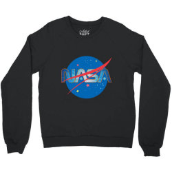 NASA Space Universe Logo Crewneck Sweatshirt | Artistshot