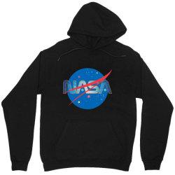 NASA Space Universe Logo Unisex Hoodie | Artistshot