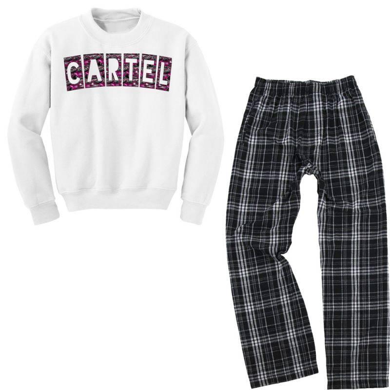 Cartel Youth Sweatshirt Pajama Set   Artistshot