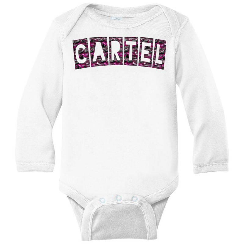 Cartel Long Sleeve Baby Bodysuit | Artistshot
