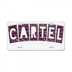 Cartel License Plate | Artistshot