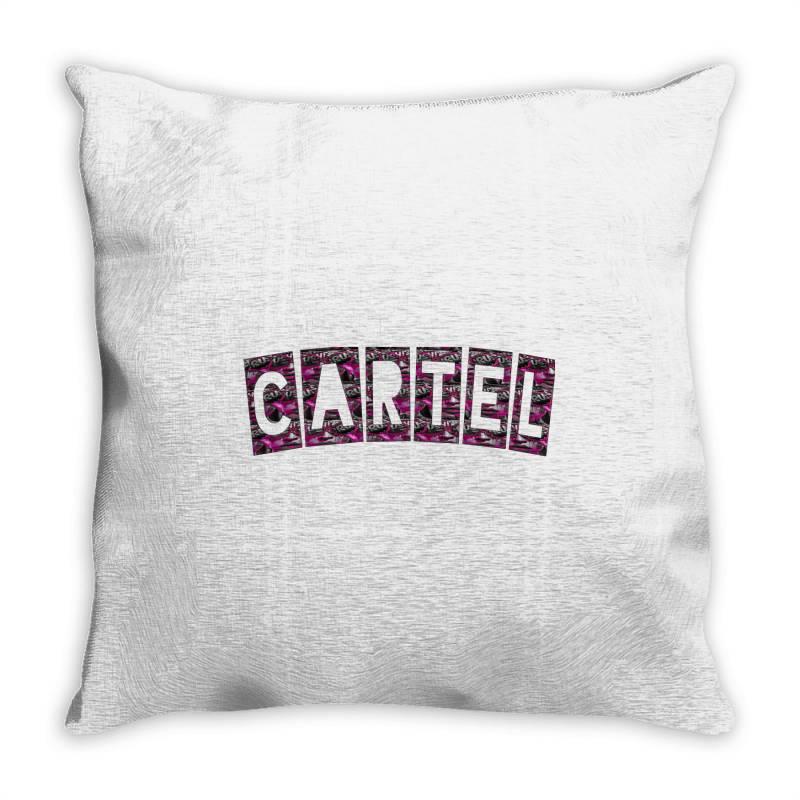 Cartel Throw Pillow | Artistshot
