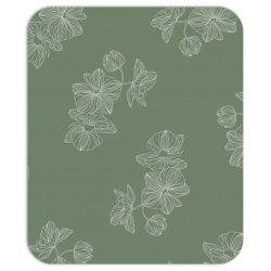 olive green floral Mousepad | Artistshot