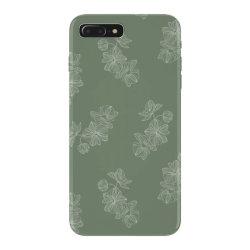olive green floral iPhone 7 Plus Case | Artistshot