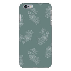 mint green floral iPhone 6 Plus/6s Plus Case | Artistshot