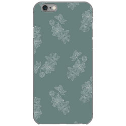 mint green floral iPhone 6/6s Case | Artistshot