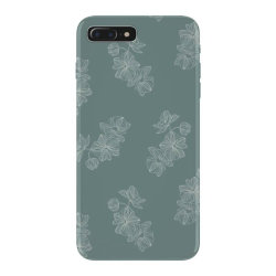 mint green floral iPhone 7 Plus Case | Artistshot