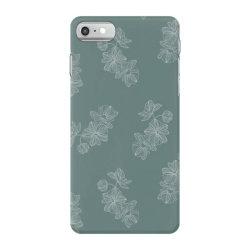 mint green floral iPhone 7 Case | Artistshot