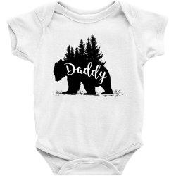 Papa Bear Baby Bodysuit   Artistshot