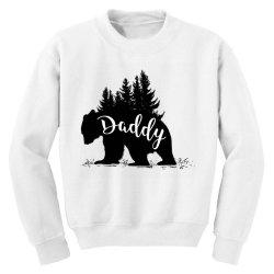 Papa Bear Youth Sweatshirt   Artistshot