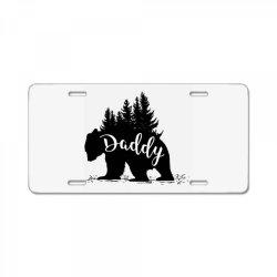 Papa Bear License Plate | Artistshot
