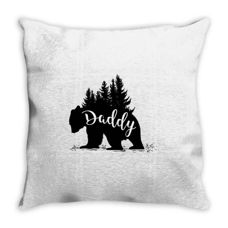Papa Bear Throw Pillow | Artistshot