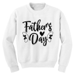 fathers day 01 Youth Sweatshirt | Artistshot