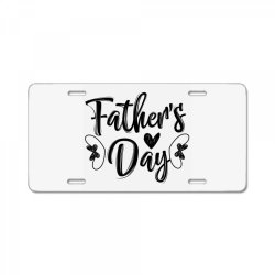 fathers day 01 License Plate | Artistshot