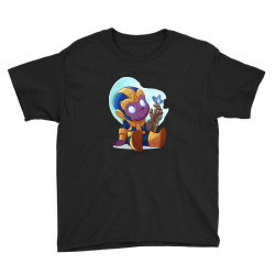 cute baby Thanos (Low Poly Abstract) ZoomOut Effect Youth Tee | Artistshot