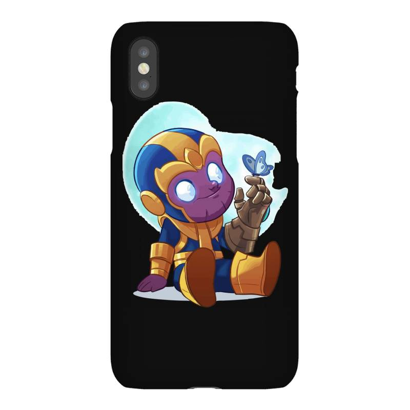 Cute Baby Thanos (low Poly Abstract) Zoomout Effect Iphonex Case | Artistshot