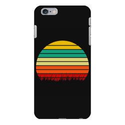 Retro yellow orange sunset iPhone 6 Plus/6s Plus Case | Artistshot