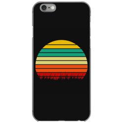 Retro yellow orange sunset iPhone 6/6s Case | Artistshot