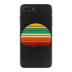 Retro yellow orange sunset iPhone 7 Plus Case | Artistshot