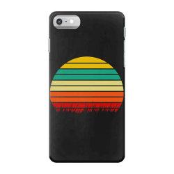 Retro yellow orange sunset iPhone 7 Case | Artistshot