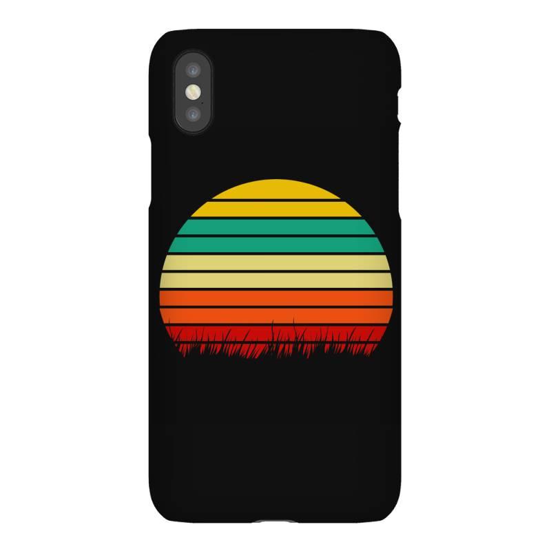 Retro Yellow Orange Sunset Iphonex Case | Artistshot