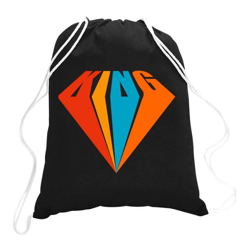 King Drawstring Bags | Artistshot