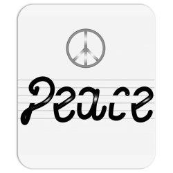 Peace Mousepad | Artistshot