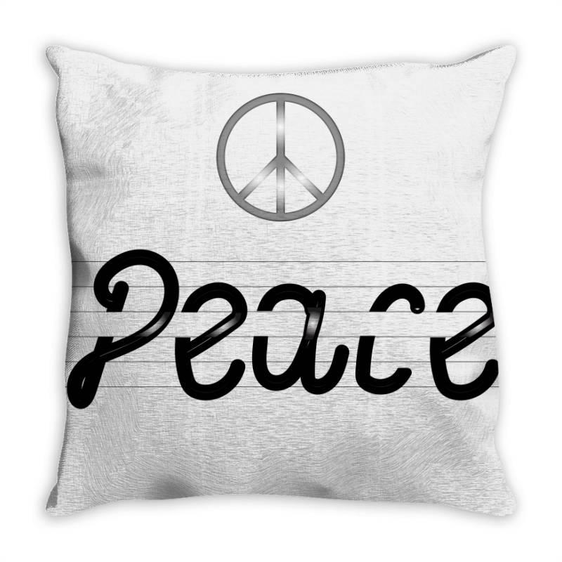 Peace Throw Pillow | Artistshot