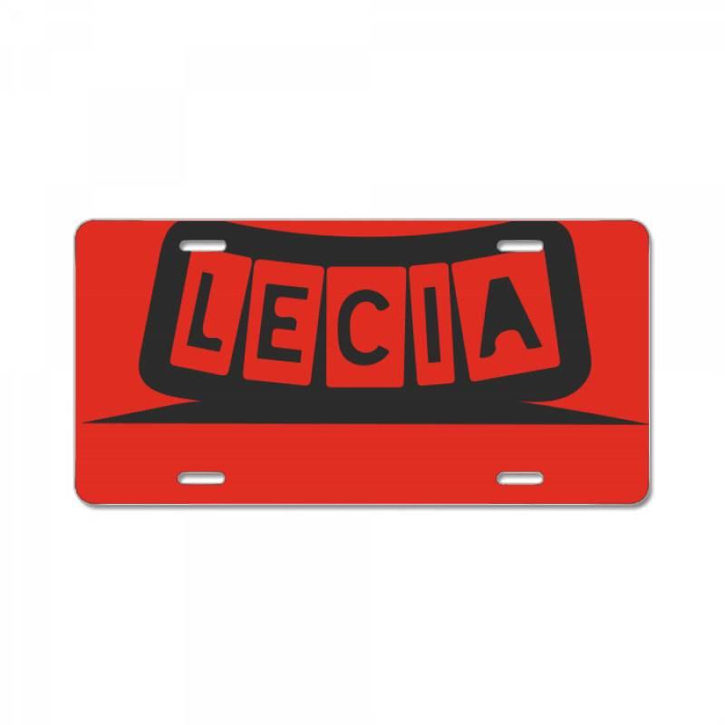 Lecia License Plate | Artistshot